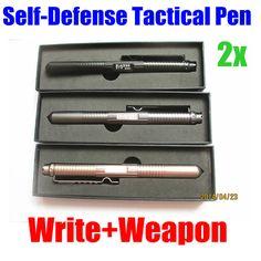 $14.32 (Buy here: https://alitems.com/g/1e8d114494ebda23ff8b16525dc3e8/?i=5&ulp=https%3A%2F%2Fwww.aliexpress.com%2Fitem%2F2pcs-lot-LAIX-Survival-Tactical-ballpoint-pen-self-Defense-outdoor-camping-weapons-Tools-Aviation-women-s%2F1824200318.html ) 2pcs/lot LAIX Survival Tactical ballpoint pen self-Defense outdoor camping weapons Tools Aviation women's kyokuden self-defense for just $14.32