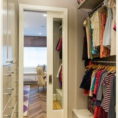 Walk Through Closet Home Design Ideas, Pictures, Remodel And Decor