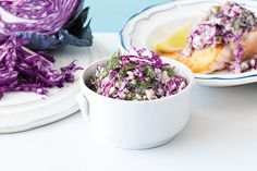 Add colour to dishes with this bright vegie from the cabbage patch. Try it in this creamy French-style slaw that's a perfect winter side for pan-fried salmon.