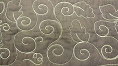 Curly vines and leaves Quilting Board, Quilting Rulers, Longarm Quilting, Free Motion Quilting, Hand Quilting, Machine Quilting Designs, Quilting Patterns, Quilting Ideas, Stitch Patterns