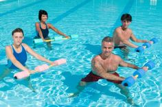 Water exercise is a great option for painful joints and arthritis pain relief. #Fitness #Exercise #JointPain
