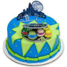 Teenage Mutant Ninja Turtles Turtles to Action DecoSet Cake Topper ❤ liked on Polyvore