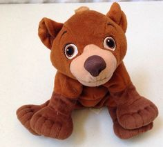 "Disney Brother Bear Koda Plush Bear Stuffed Animal Brown 10"" 2003 Hasbro #Hasbro"