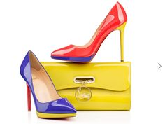 Louboutins summer essentials. Totally in love, just wish I could walk in them. £525?Bargain!! I'll take 2 pairs.