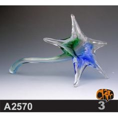 Size: 31X19X13 cm     Material: Murano glass     Description:  All of our glass crafts are true hand blown. They are different from the other glass crafts which are made by machine. Our glass crafts are handicraft in its true sense. Our products are international certified, they are controled in the standard quality field. Now we have some stocks to sell,and the real products will look exactly the same as photos.