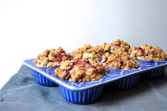 Peanut Butter and Jelly Streusel-Topped Muffins