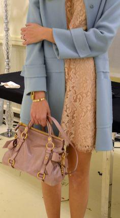 Miu Miu bow bag, Alberta Ferretti fashionshow 2012