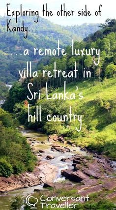Exploring the remote foothills near Kandy, and staying at a luxury Sri Lanka villa with it's own infinity pool, Villa Aqua Dunhinda near Gampola