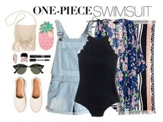 """""""Summer Swimming"""" by angiegdurant ❤ liked on Polyvore featuring Ruby Mint, J.Crew, Lolli Swim, Billabong, Ray-Ban, Christian Dior and Marc Jacobs"""