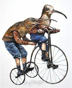 """""""Birdmen"""" – Jens Rusch www,jens-rusch.de"""