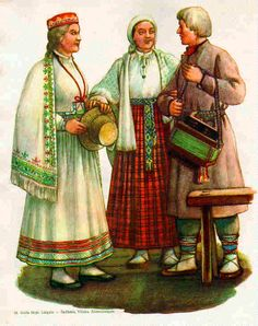 Folk Costumes from Latgale