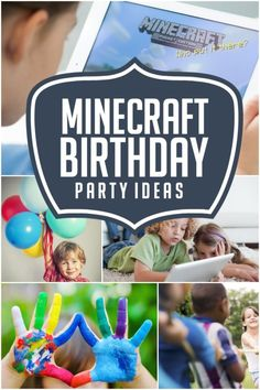 HOW TO PLAN A MINECRAFT BIRTHDAY PARTY - Does the birthday kid at your house have his/her heart set on a Minecraft themed party? If you've never played the