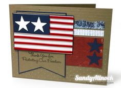 Patriots Day Card & a Challenge