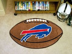 "NFL - Buffalo Bills Football Rug 20.5""x32.5"""