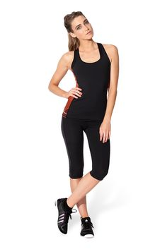 Black Milk Clothing Muscle Combat Top