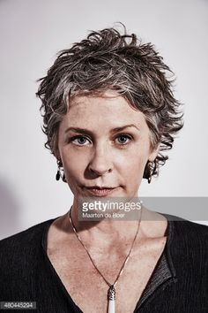 Actress Melissa McBride of 'The Walking Dead' has the coolest 'short and spiky' hair!!