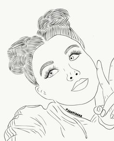 Discover the coolest images Coloring Pages For Girls, Colouring Pages, Coloring Books, Art Drawings Sketches Simple, Cute Drawings, Picsart, Ohuhu Markers, Best Friend Drawings, Photo Studio