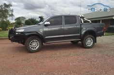New & Used cars for sale in Australia Toyota Trucks, Toyota Hilux, New And Used Cars, Cars For Sale, 4x4, Manual, Australia, Textbook