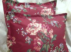 Pair Custom Made PARSONAGE LANE Decorative Boudoir by Sew1Pretty