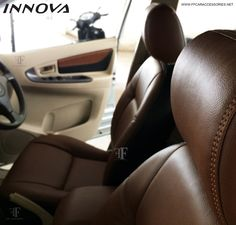 Toyota Innova had a new look at ff car accessories, Chennai