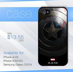 captain america shield iphone case iphone 4 case by SIMPELMonogram, $14.99