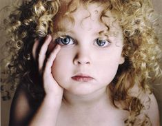 Lisa Visser Fine Art Photography | super cute curly sue