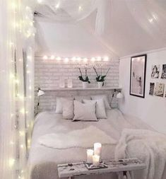 Fairy lights in bedrooms | Bedrooms V Lights – Around the bed head ...