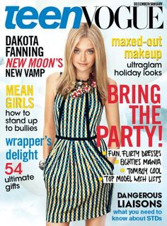 Dakota Fanning December/January 2010