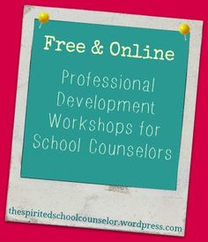 Free Online Professional Development Counseling Office, Elementary School Counseling, School Social Work, School Counselor, Elementary Schools, Professional Counseling, Professional Development, Preschool Director, Importance Of Time Management