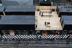 22 Most Beautiful Houses Made from Shipping Containers: London's first Pop-Up Shipping Container Mall Opens in Shoreditch.