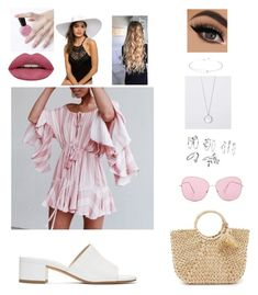 """""""Untitled #19"""" by babygirl-aurora on Polyvore featuring Maryam Nassir Zadeh and Oliver Peoples"""