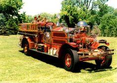 Vincennes, IN FD 1926 Ahrens-Fox Pumper Model MX-3 Serial #1307