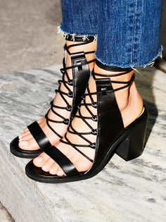 Vegan Nights Heel   100% vegan heeled sandal with a cute lace-up design and open back. Chunky block heel creates a comfortable step.