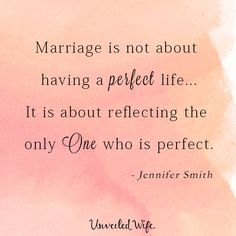 Jesus Christ is the only One who is perfect!