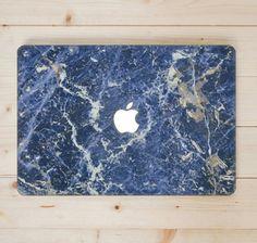 Blue Marble MacBook Case.  Hard Plastic by MacBookCasesandCo