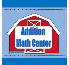 Addition Math Center -- This is great for a math center or for early finishers. http://drclementskindergarten.blogspot.com/