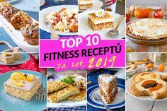 Nejlepší fitness recepty za rok 2019 Cereal, French Toast, Muffin, Fitness, Breakfast, Recipes, Food, Diet, Morning Coffee