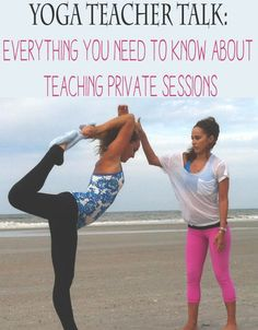 Yoga Teacher Talk: What to know about teaching private sessions — YOGABYCANDACE