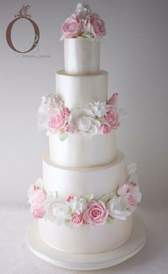 Ornella-Bianca Wedding cake