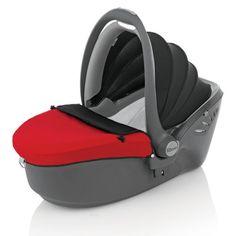 Römer 96351000 - Silla de automóvil baby Sleeper Grupo 0, color rojo rojo/negro