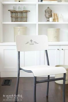 Makeover to Flea Market Chairs | So Much Better With Age