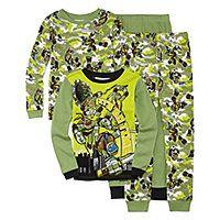 4-pc. Teenage Mutant Ninja Turtles Pajama Set- Boys 4-10 - 4-pc. Teenage Mutant Ninja Turtles Pajama Set- Boys 4-10