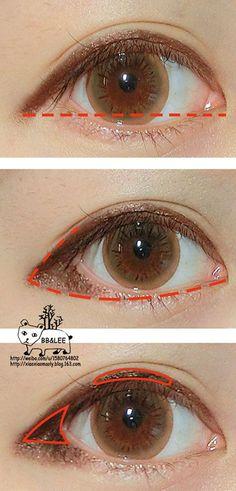 puppy eye makeup - Google Search #Koreanmakeup