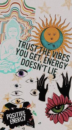 positive energy and good vibes. positive energy and good vibes. positive energy and good vibes. Magazine Collage, Psychedelic Art, Aesthetic Iphone Wallpaper, Aesthetic Wallpapers, Wallpaper Quotes, Wallpaper Backgrounds, Good Vibes Wallpaper, Happy Wallpaper, Galaxy Wallpaper