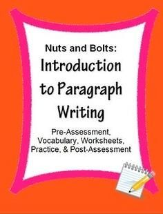 Writing skills, Writing and Paragraph writing on Pinterest