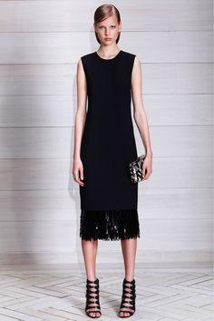 Style Minimalistic Dress with original knit details