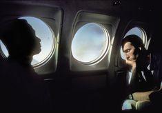 Harry Gruyaert. NIGER. On a plane. 1996
