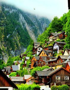 Travel Gallery: Hallstatt Village, Gmunden Austria
