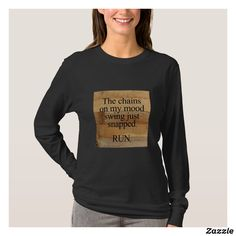 Customizable T-Shirt made by Zazzle Apparel. Brain Injury, Graphic Sweatshirt, T Shirt, Wardrobe Staples, Create Your Own, Fitness Models, Female, Sweatshirts, Casual