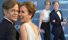 Felicity Huffman and William H Macy laugh at Critics' Choice Awards